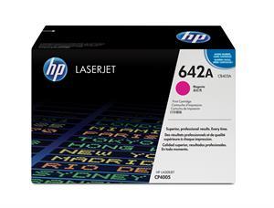 Magenta lasertoner - HP nr.642A - 7.500 sider
