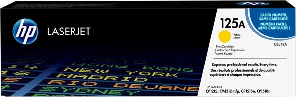 Image of   Gul lasertoner - HP CB542A - 1.400 sider