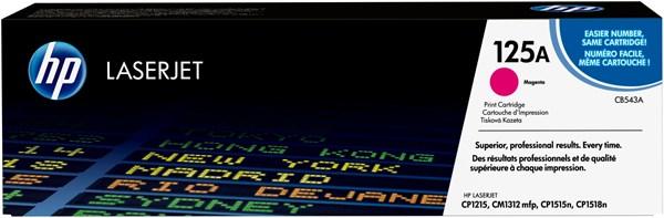 Image of   Magenta lasertoner - HP CB543A - 1.400 sider.
