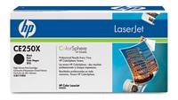 Sort lasertoner - hp nr.250 x - 12.000 sider