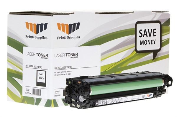 Image of   Sort lasertoner - HPCE740A - 7.000 sider