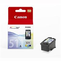 Billede af 3-i-en farve blækpatron - Canon CL-511 - 9ml
