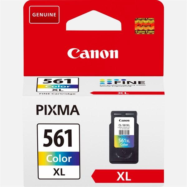 Image of   3-i-en farve blækpatron - Canon CL-561XL - 300 sider