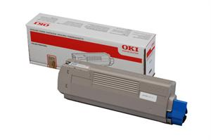 Image of   Sort lasertoner 851/861 - OKI - 7.000 sider