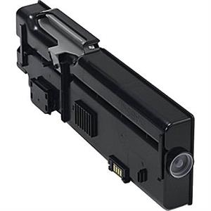 Sort lasertoner 2665 - Dell - 6000 sider