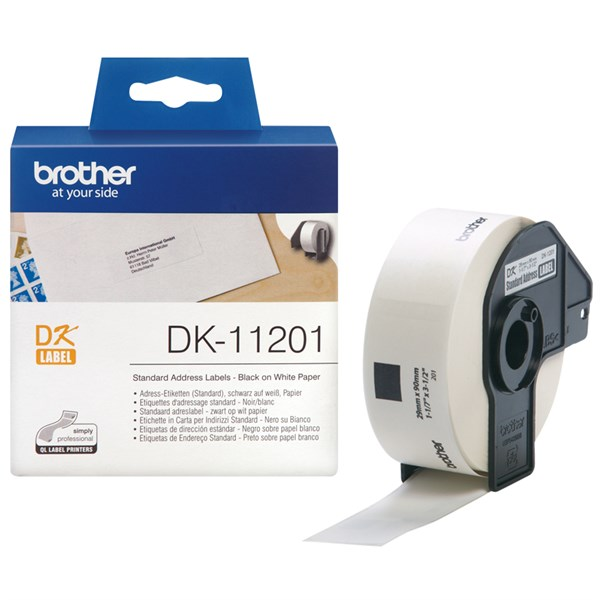 Brother adresse label (29x90mm) 400 stk.
