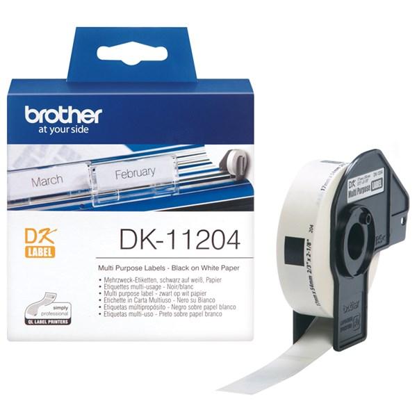 Brother multi label (17x54mm) 400 stk.