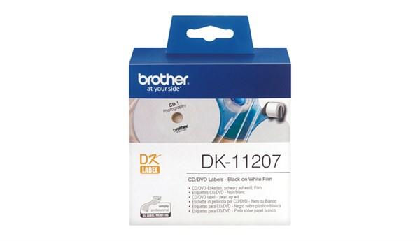Brother cd/dvd label (58ø) 100 stk.