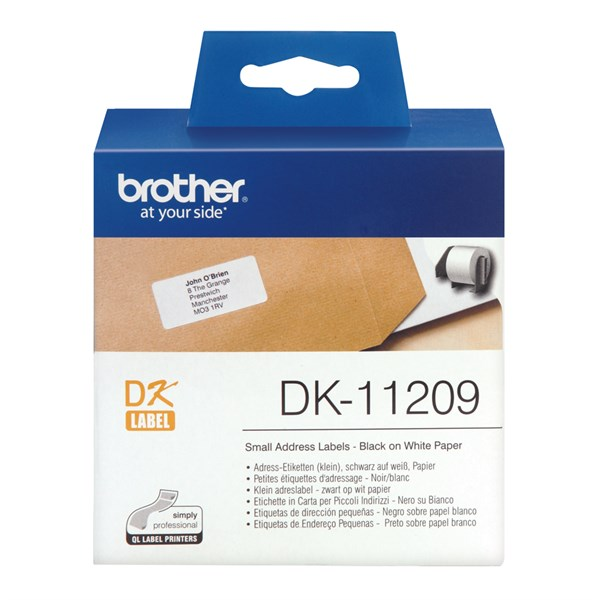 Brother lille adresse label (62x29mm) 800 stk.