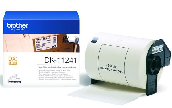 Dk11241 brother fragt etiketter (102x152mm) 200 stk.