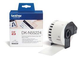 N/A Brother 54mm ikke-klæbende papirtape - hvid (30,48m) på printerpatroner.dk