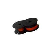 Image of   2 farvet farvebånd til Casio bordregner
