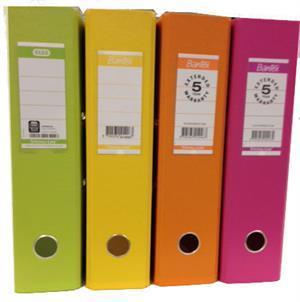 N/A Lime brevordner bred a4 fra printerpatroner.dk