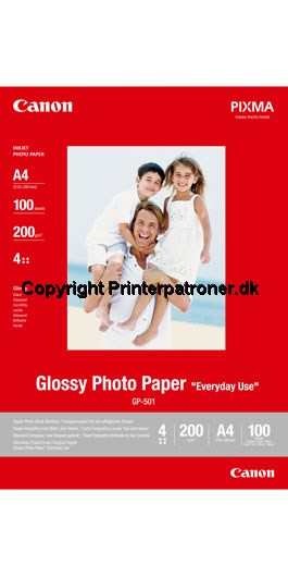 Image of   Glossy fotopapir A4 - Canon - 200gr./100 ark