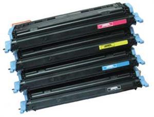 4-pak b/c/m/y toner - hp 6000 serien - 1x2000+4x2500 sider