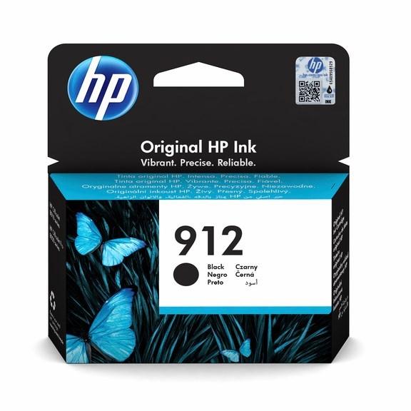 Sort blækpatron - HP nr.912 - 300 sider