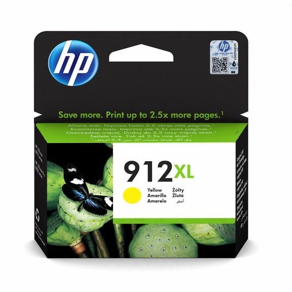Gul blækpatron - HP nr.912XL - 824 sider