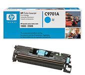 Cyan lasertoner - HP C9701A - 4.000 sider