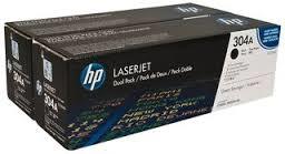Sort lasertoner 2pak - HP CC530AD - 2x3.500 sider