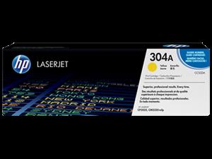 Image of   Gul lasertoner - HP CC532A - 2.800 sider