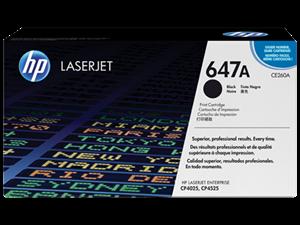 Sort lasertoner - HP CE260A - 8.500 sider