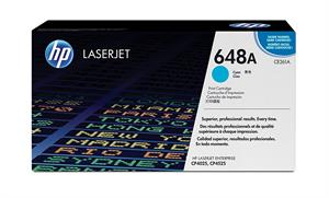 Image of   Cyan lasertoner - HP CE261A - 11.000 sider