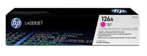 Image of   Magenta lasertoner - HP 126A - 1.000 sider