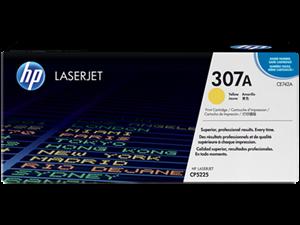 Image of   Gul lasertoner - HP nr.307A - 7.300 sider