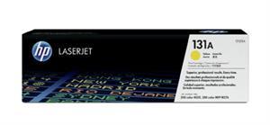 Gul lasertoner - HP nr.131A - 1.800 sider