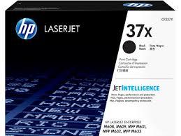 Hp Sort Lasertoner - Hp Nr.37X - 25.000 Sider Originale Hp Lasertoner