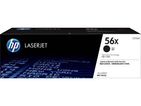 Sort lasertoner - hp nr. cf256x - 13.700 sider