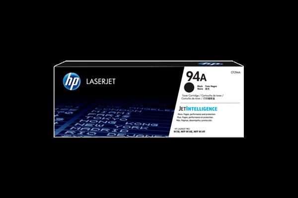 Sort Lasertoner - Hp Nr.94 A - 1.200 Sider Originale Hp Lasertoner