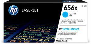 Image of   Cyan lasertoner - HP nr.656X - 22.000 sider