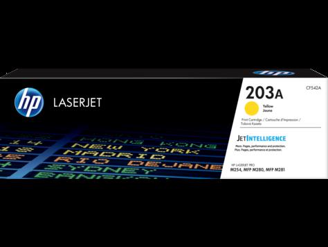 Image of   Gul lasertoner - HP nr.203 A - 1.300 sider
