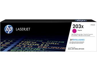 Magenta lasertoner - hp nr.203 x - 2.500 sider