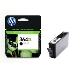 Sort blækpatron - HP nr.364 BXL - 12.5ml.