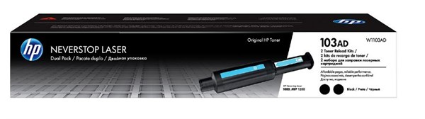 Image of   2-Pack Sort lasertoner - HP nr.103AD - 2x2500 sider