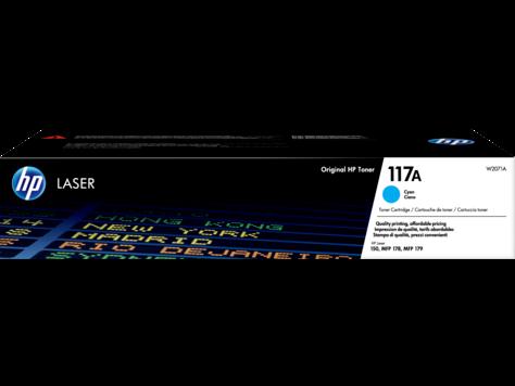 Image of   Cyan lasertoner - HP nr.117A - 700 sider