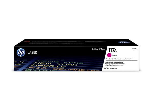 Image of   Magenta lasertoner - HP nr.117A - 700 sider