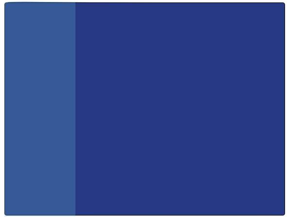 Image of   Blå skriveunderlag med lomme 50x65 cm