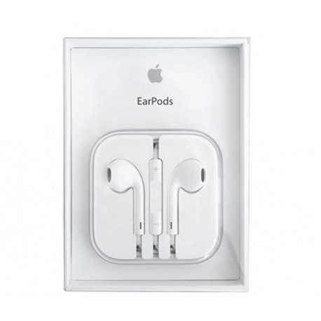 Original apple earpods med remote og mic / jack-stik