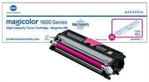 Magenta lasertoner 1600 - Konica Minolta - 2.500 sider
