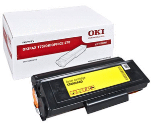 Image of   Sort lasertoner OKIFAX 170/270 - OKI - 2.000 sider.