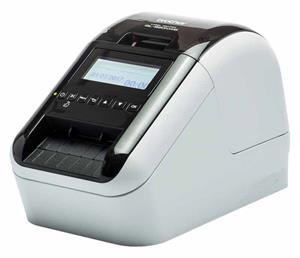 Brother etiketprinter til pc ql-820nw - kan skrive rødt