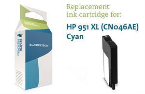 Image of   Cyan blækpatron - HP nr.951 xl - 1.500 sider