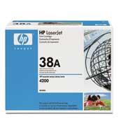 Image of   Sort lasertoner - HP 38A - 18.000 sider