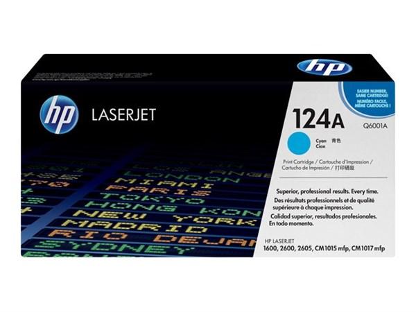 Image of   Cyan lasertoner - HP Q6001A - 2.000 sider