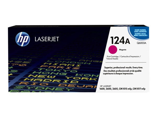 Magenta lasertoner - hp q6003a - 2.000 sider