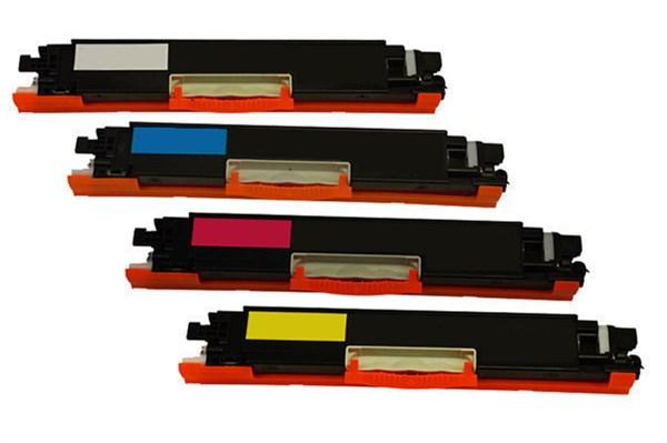 Image of   4-Pak B/C/M/Y toner - HP 130A serien - 1x1300+3x1000 sider