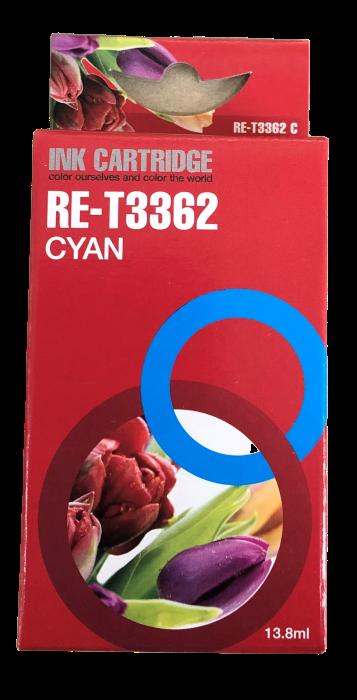 Image of   Cyan blækpatron - Epson 33CXL - 13,8 ml
